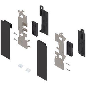 Immagine di frontali interni legrabox c zi7.2c nero set x vetro s/barre