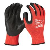 Immagine di guanti antitaglio categoria 3 tg.  9/  l nero