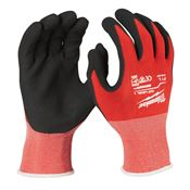 Immagine di guanti antitaglio categoria 1 tg.  9/  l nero