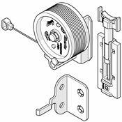 Immagine di ante concepta ricambi 30/40 door pull rotella c/cavo e fermi