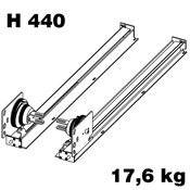 Immagine di guarniture vert-move 440 anta 17.6 kg. set 1 anta s/barra
