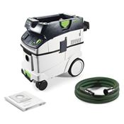 Immagine di aspiratori elettrici ctl36 e unità mobile cleantec