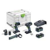 Immagine di kit foratura festool tid18 set pdc18 c/systainer