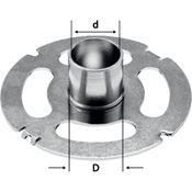 Immagine di accessori fresatrici festool kr-d30,0l/of2200 anello copiare of 2200 lungo