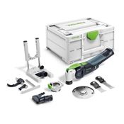 Immagine di seghetti multicutter festool osc18 basic-set c/sytainer e accessori