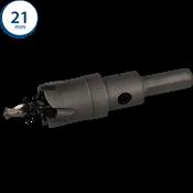 Immagine di seghe tazza cutter hm mm. 21 c/punta centraggio co 5%