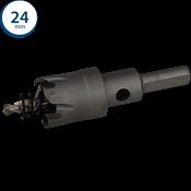 Immagine di seghe tazza cutter hm mm. 24 c/punta centraggio co 5%