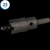 Immagine di seghe tazza cutter hm mm. 25 c/punta centraggio co 5%