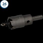 Immagine di seghe tazza cutter hm mm. 26 c/punta centraggio co 5%