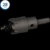 Immagine di seghe tazza cutter hm mm. 28 c/punta centraggio co 5%
