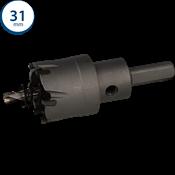 Immagine di seghe tazza cutter hm mm. 31 c/punta centraggio co 5%