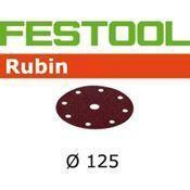 Immagine di dischi abrasivi rubin d125  8f/ 65 p 240 busta 50 dischi