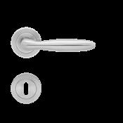 Immagine di maniglie korfu rosetta patent inox satinato