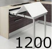 Immagine di meccanismi tavoli estraibili party l1200 set 1 tavolo