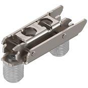 Immagine di basi clip diritte acciaio eb mm. 3 nich. c/buss. mm.10 c/eccen