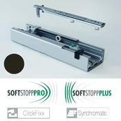 Immagine di colonne clickfixx guide 100 kg. antrac. telescopica softstop +/pro