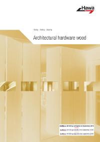 Hawa 201801EN Architectural hardware wood