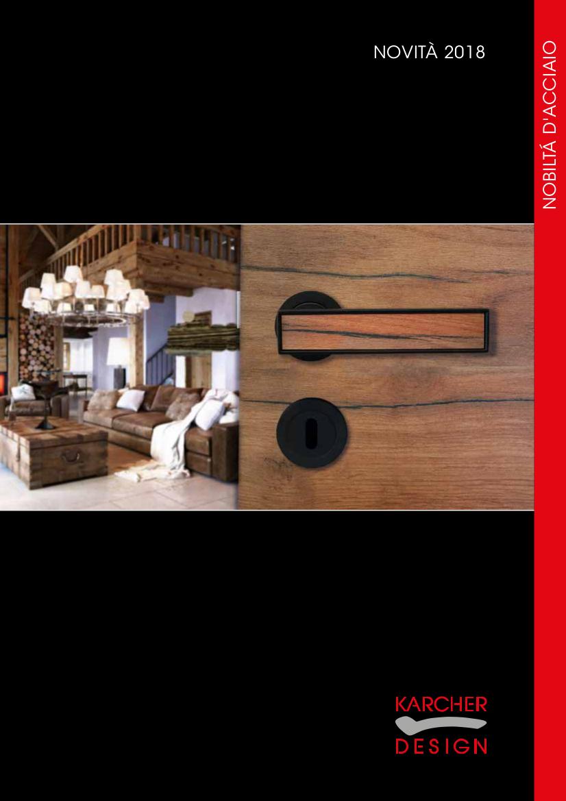 Brochure Karcher Design 2018