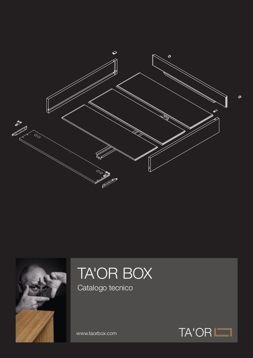 Catalogo tecnico Ta'or Box